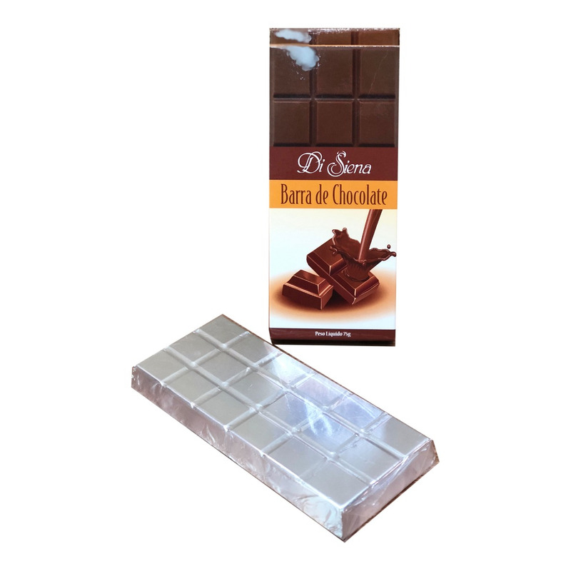 Barra de Chocolate Ao Leite 75g