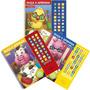 Coleção Blu Editora Ouça E Aprenda Abc Números E Inglês