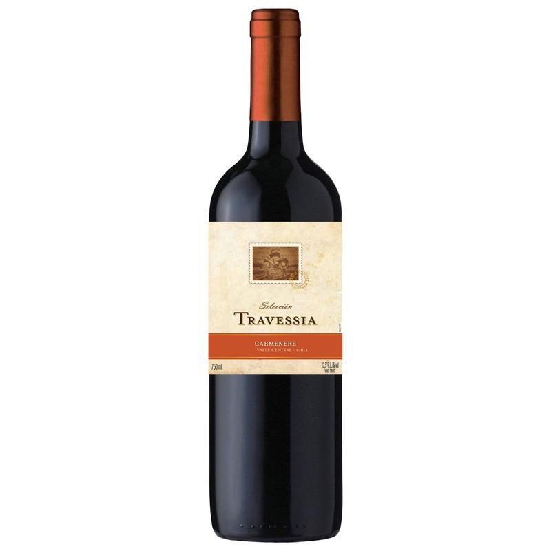 Vinho Fino Carménère 750ml - Travessia