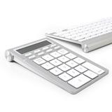 Satechi teclado inteligente Calculadora sem fio ST-WKP31 Silver