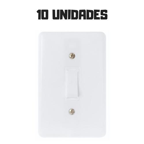 10 Interruptor Residencial Casa Simples Barato Promoção Original