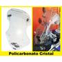 Bolha Tenere Com Defletor Em Policarbonato Cristal 4mm
