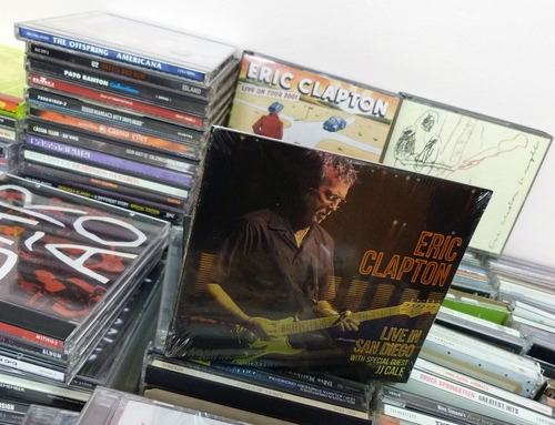 Cd Eric Clapton Live In San Diego Special Jj Cale Blues Rock Original