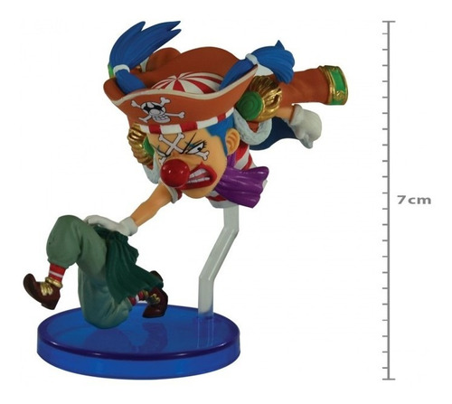 Action Figure One Piece - Buggy - 20th Wcf Original
