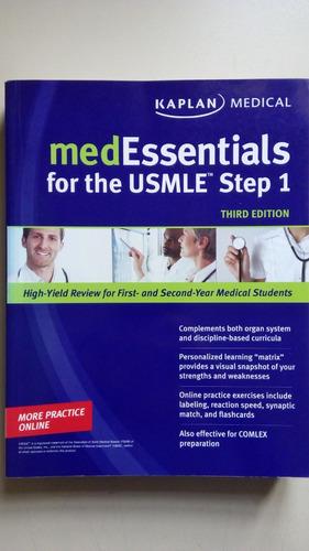 Livro Med Essentials For The Usmle Step 1 Third Edition B676 Original