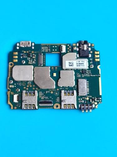 Placa Mãe Principal Moto C Plus Xt1726  Retirada De Peças Original