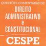 500 Questões Comentadas D. Administrativo E Constitucional