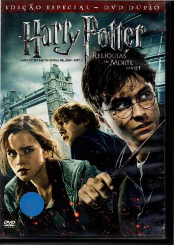 Dvd Harry Potter E As Reliquias Da Morte Parte 1