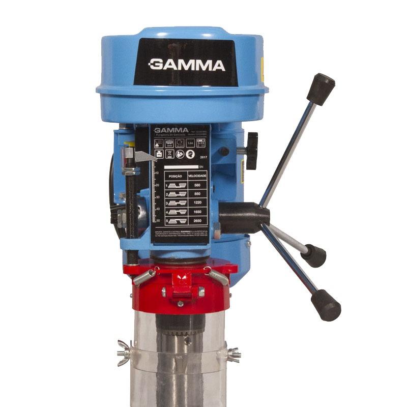 FURADEIRA DE BANCADA GAMMA 13MM 350W 110V + PAQUIMETRO DIGITAL