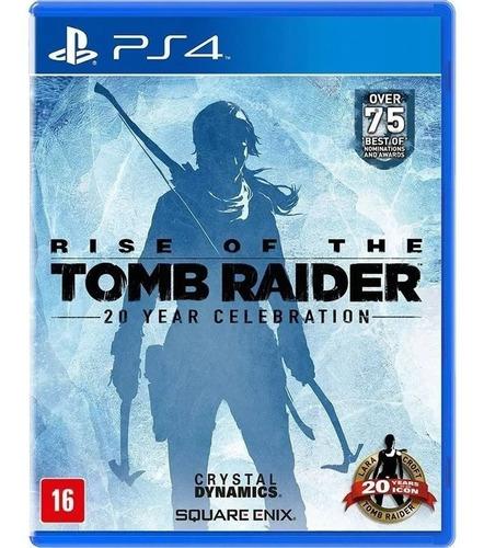 Rise Of The Tomb Raider Ps4 Midia Digital Original