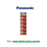 CARTELA BATERIA PANASONIC CR2032 3V LITHIUM