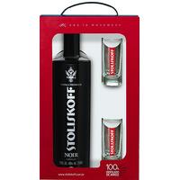 Kit Vodka Premium Noir + 2 copos - Stoliskoff