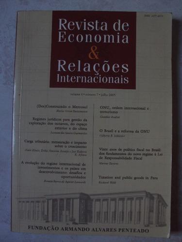 Revista De Economia & Relações Internacionais Original