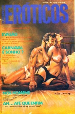 Quadrinhos Eróticos 15 (grafipar-1979) -ótimo Estado