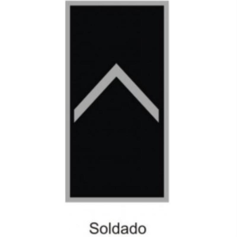 Divisa Soldado PM Emborrachada - U