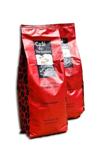 1kg Café Em Grãos Para Máquina De Café Expresso .
