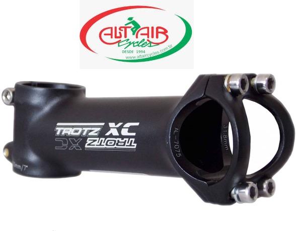 SUPORTE GUIDÃO TROTZ XC 90mm 7°