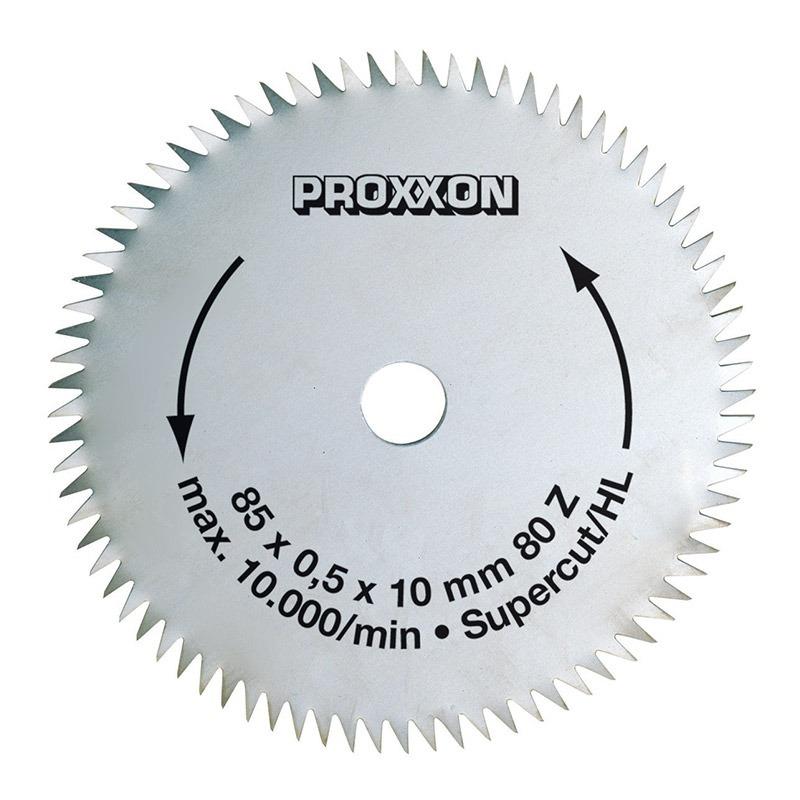 Disco de Serra Super Cut 85mm 80 Dentes para FET - 28731 - Proxxon