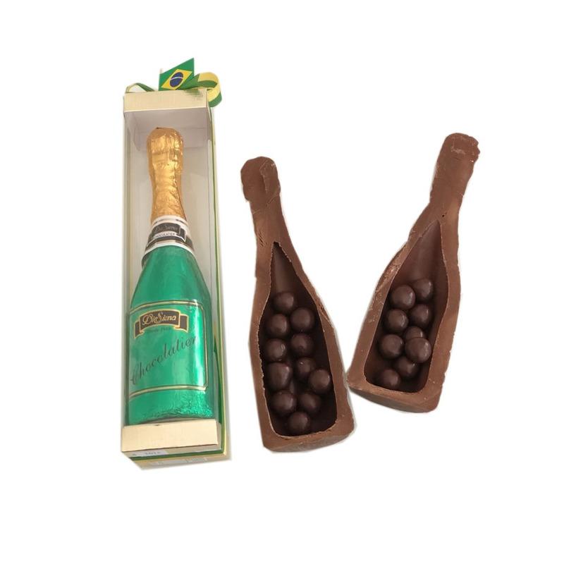 Garrafa Champagne de Chocolate 250g