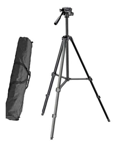 Tripe Para Camera Digital Filmadora Dslr Tr450 1.35 Mt Original