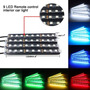 Carros Luz Led Neon Cores Ambiente Controle Sensor Musica Nf
