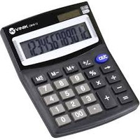 Calculadora de Mesa Vinik CM10-12 LCD Preto