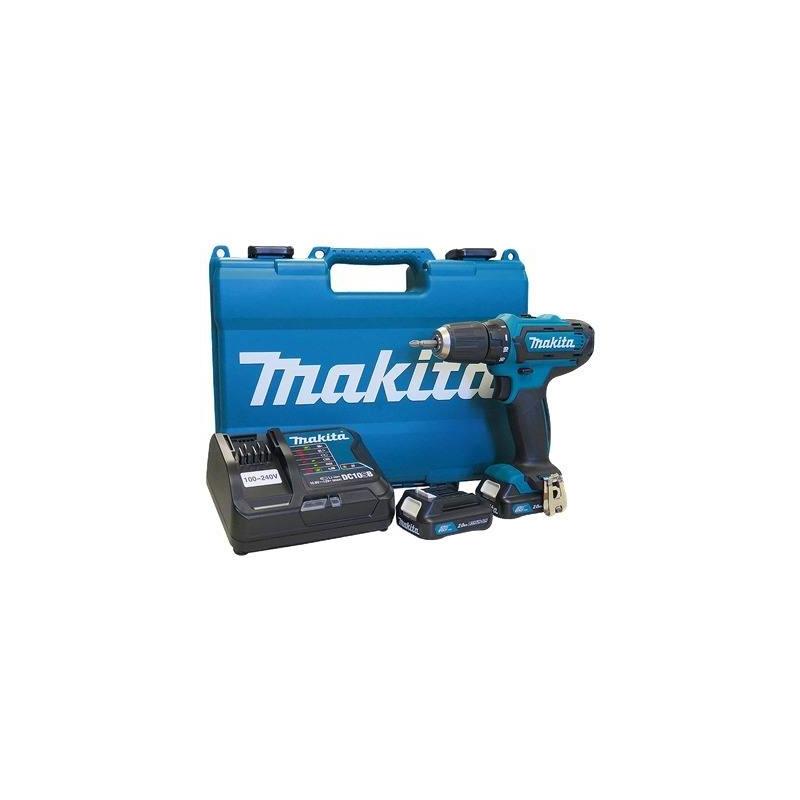 """Parafusadeira e Furadeira a Bateria 12v 2.0Ah 10 mm (3/8"""") - DF331DSAE - Makita - Bivolt <BR>"""