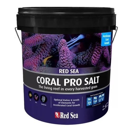 Red Sea Coral Pro Salt 22kg Sal Para Aquário Marinho P/ 660l Original