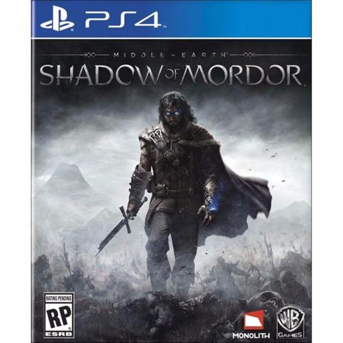 Middle Earth Shadow Of Mordor - Nacional - Ps4 Original