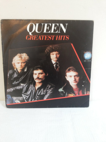 Lp-vinil-queen-greatest Hits-c/encarte-selo Rock Rio-zerado