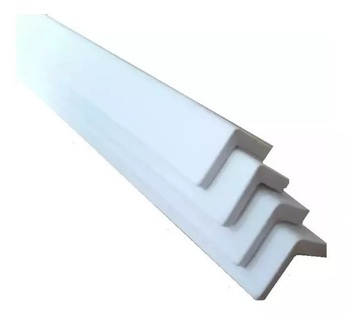 Protetor Branco Quina Canto Cantoneira Rolo 2 Metros Bs025  Original