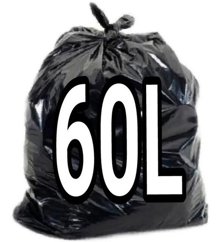 Saco De Lixo 60 Litros Intermediário 100 Unidades Original