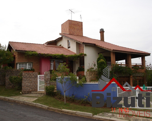 Sobrado Champs Privés Residence Country Golf Club, Campo Limpo Paulista/sp - Ca00290 - 68184745