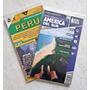 Jogo Com 2 Mapa Rodoviário Da América Do Sul E Peru