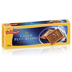 Biscoito com Cobertura de Chocolate  ...