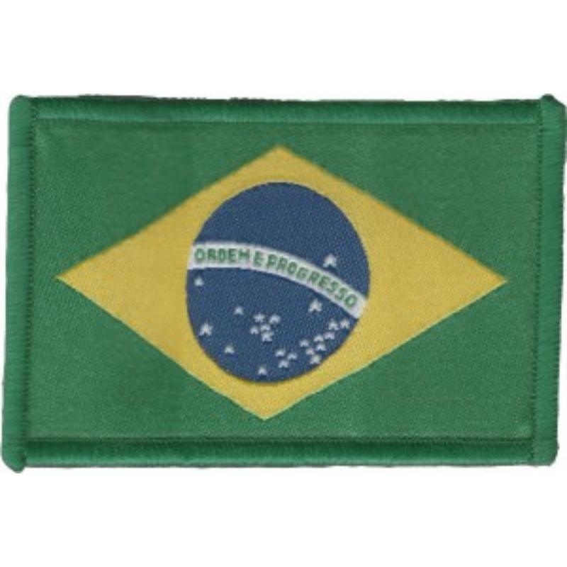 Bandeira do Brasil Tecida