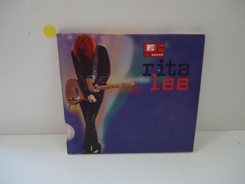 Cd Rita Lee - Mtv Ao Vivo - By Trekus Vintage Original