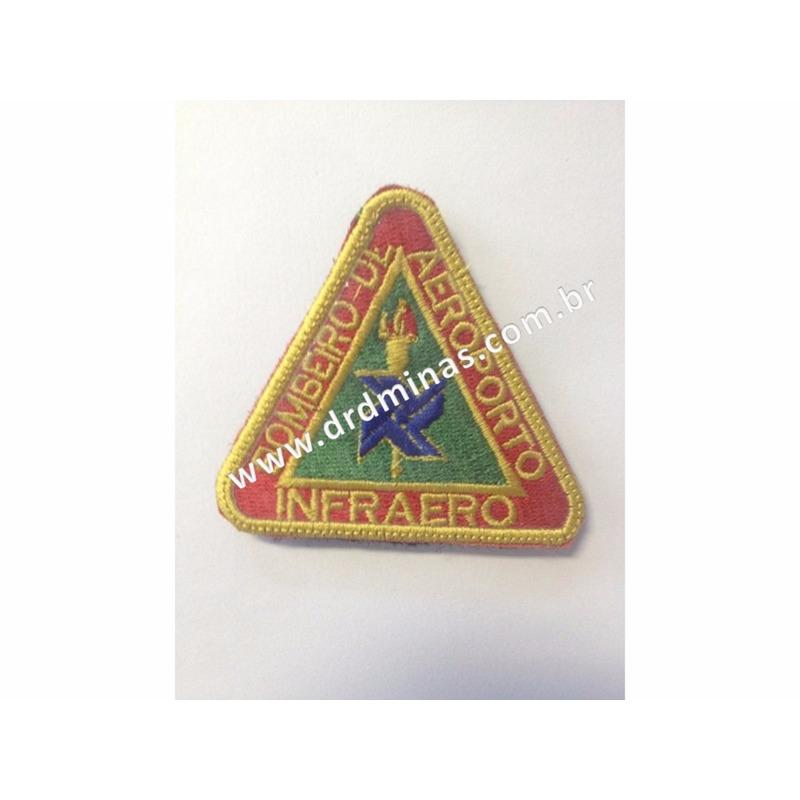 Patch / Distintivo Bordado INFRAERO - III