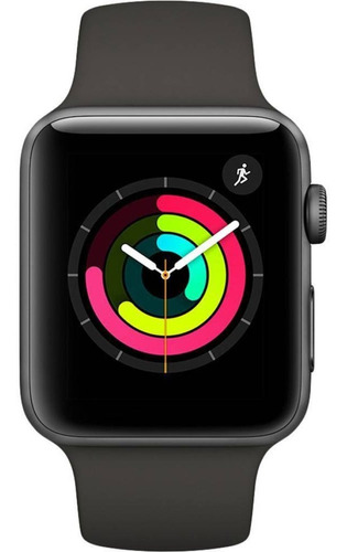 Apple Watch -  Serie 3 - 42mm - Space Gray Aluminum Black Original