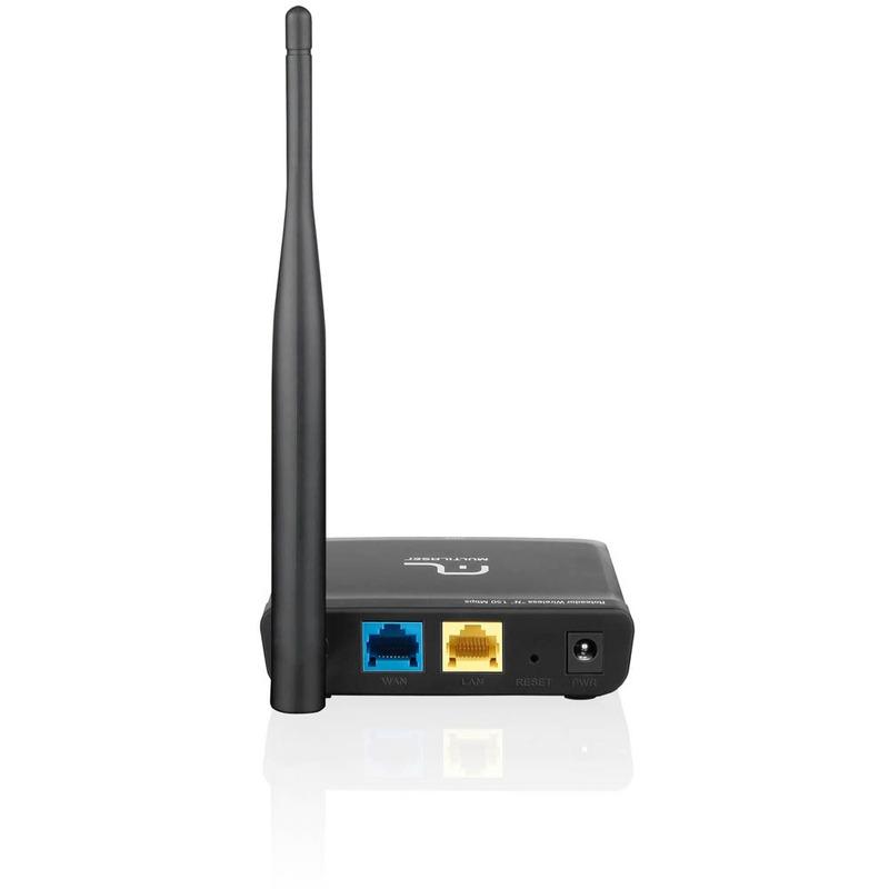 Roteador 150 Mbps Antena Fixa Mini Bivolt Multilaser - RE047