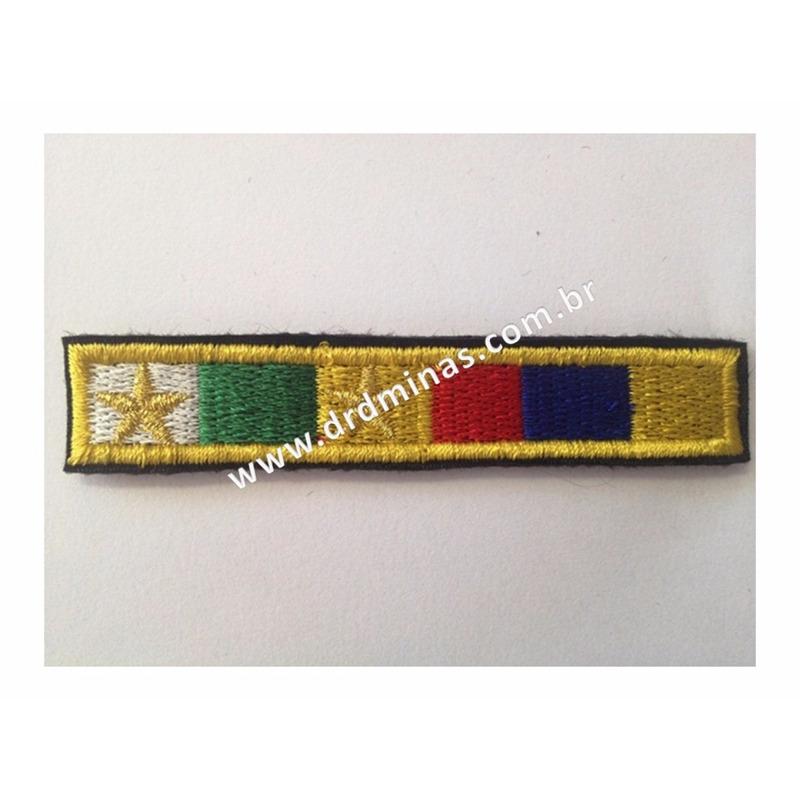 Medalha Bordado Militar 20 Anos / M. Profissional