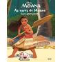As Cores De Moana: Livro Para Pintar