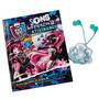 Livro Monster High Sons Horripilantes Atividades E Fone