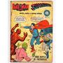 Hq Batman Superman Invictus Nº 6 3º Serie Ebal 1967