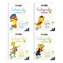 Caligrafia Divertida 4 Volumes Crianças Acima De 5 Anos