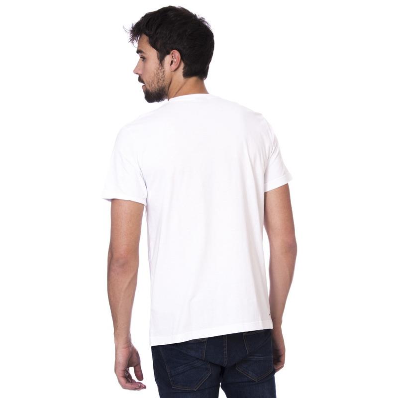 Camiseta Long Island Triângulo Branca