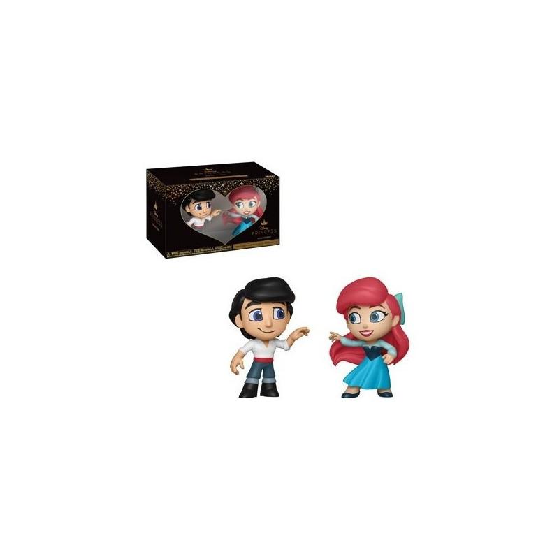 Eric e Ariel Mini Vinyl Figures 2-Pack Funko - A Pequena Sereia - Disney