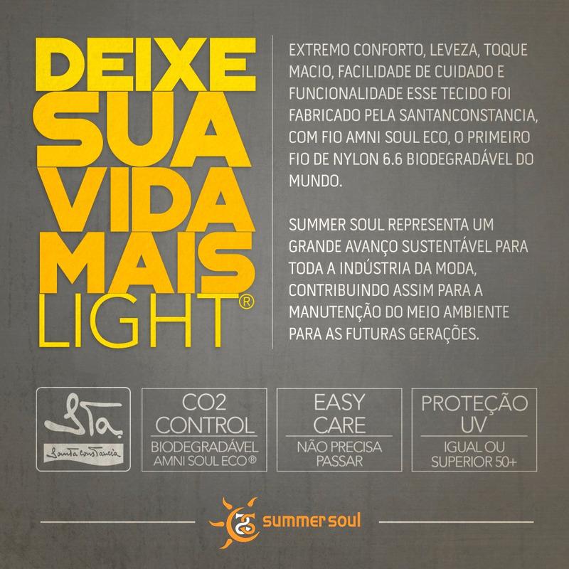 Top Summer Soul Cortininha Com Passante Listrado Preto Branco