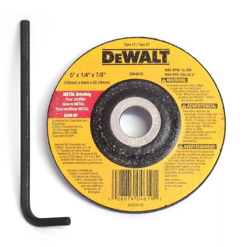"""Esmerilhadeira Angular 4.1/2"""" 1500W  DeWalt - DWE4336 220V"""