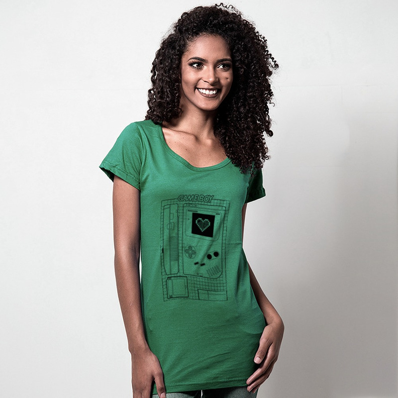 CAMISETA VERDE - LOVE GAME